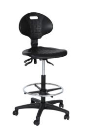 Werkstoelen hoog / kassastoelen