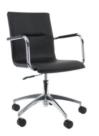 Design stoel Pauw Leder