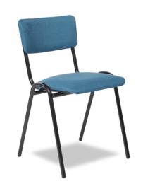 Kerkstoel / zaalstoel Easy 3304  / Pure 3304 gestoffeerde rug en zitting