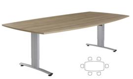 Huislijn Basic vergadertafel tonvorm 200 x 80/100cm