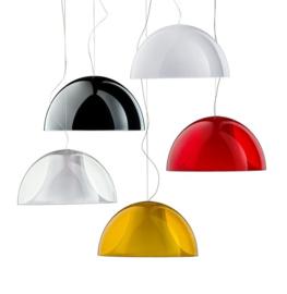 Hanglamp met halfronde kap L002S/BA