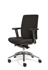 Bureaustoel OKAY (met brede of smalle armleggers)