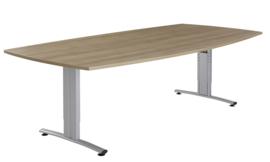 Huislijn Basic vergadertafel tonvorm 240 x 100/120cm