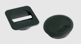 Kabeldoorvoer vierkant 8cm