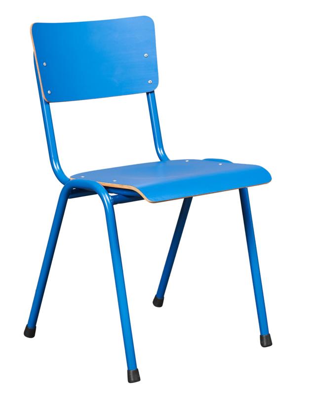 Kantine stoel Pure Model 3390 met frame in kleur CPL zitting/rug