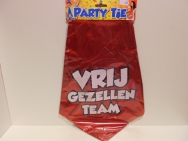 Party tie  vrijgezellen team