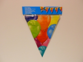 Ballonnen vlaggenlijn