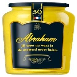 Abraham Jij weet nu waar je de mosterd moet halen.