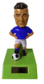 Voetballer solar pal blauw shirt