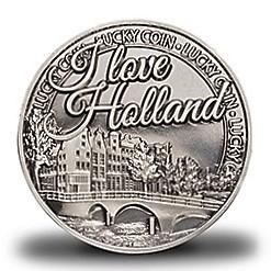 Geluksmunt I love Holland gracht