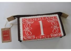 Toilettasje postzegel