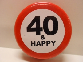 40 and happy