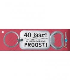 Flesopener 40 jaar
