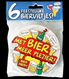 Met bier meer plezier