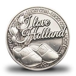 Geluksmunt I love Holland klompen