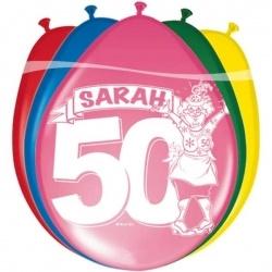 Ballonnen Sarah 8 stuks