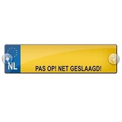 PAS OP! NET GESLAAGD (Breedte 7 cm Lengte 26 cm)