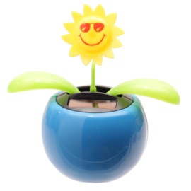 Zonnebloem solar pal Blauw