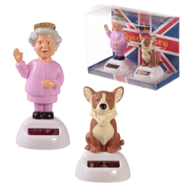 Queen & Corgi Solar pal set