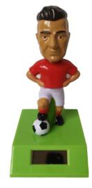 Voetballer solar pal rood shirt