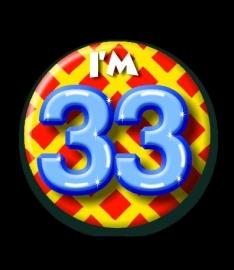 I`m 33