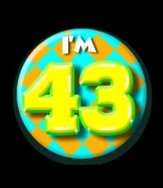 I`m 43