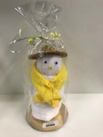 Handdoek figuur sneeuwpop