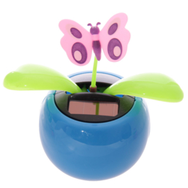 Vlinder solar figuur