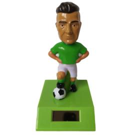 Voetballer solar pal groen shirt