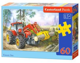 Castorland puzzel tractor