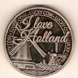 Geluksmunt I love Holland molen