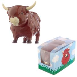 Highland cow solar pal