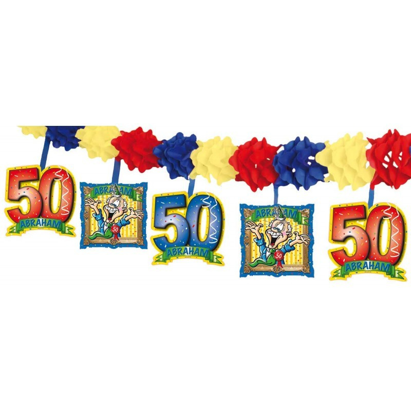Nieuw 50 Jaar Abraham Slinger met Onderhanger | Abraham en Sarah DD-57