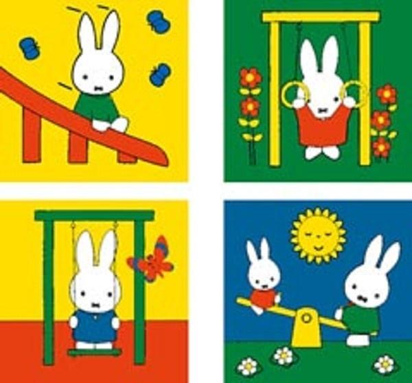 Ravensburger Nijntje in de speeltuin 4 in a box