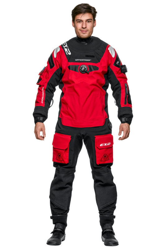 Waterproof EX2 Heren (rood)