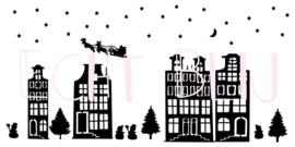 Kerst Grachtenstraatje Herbuikbaar