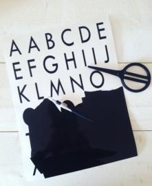 Plakletters Alfabet 5cm