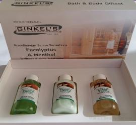 Ginkel's - Bath & Body Giftset - Eucalyptus en Menthol