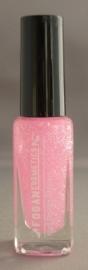Fogan - Licht roze met glitters - nr. 18