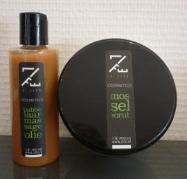 Z-Life - Mosselscrub & Babbelaar massageolie