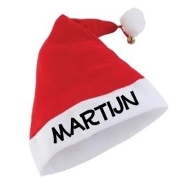 Kerst muts met naam