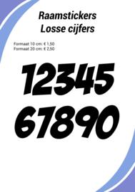 Losse cijfers, klein
