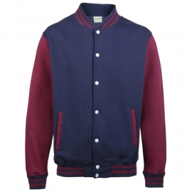 JH043 OxfordNavy Burgundy