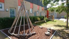 Impressie speelplaats kinderdagverblijf