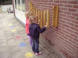 Xylofoon hout - wandmontage