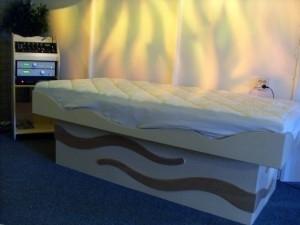 Muziektherapie-waterbed p.o.a.