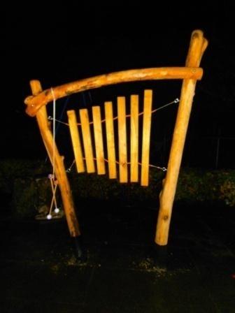 Xylofun met houten klankstaven