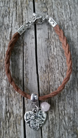 Armband Suedine Hartje