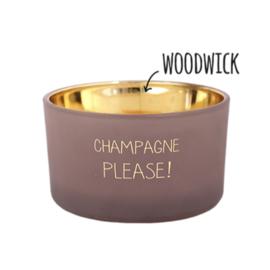 Geurkaars Champagne please!