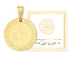 Birth flower november, goud, Chrysant